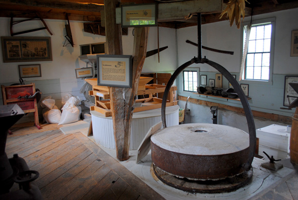 Gray's Grist Mill - Traditional Millstones